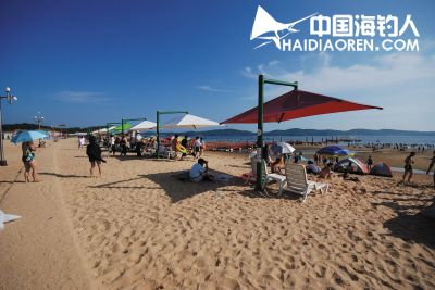 小长山岛金沙滩浴场,西大滩浴场,哈仙岛金沙滩浴场,广鹿岛月亮湾浴场